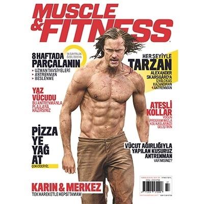 Muscle & Fitness Temmuz 2016 Sayısı