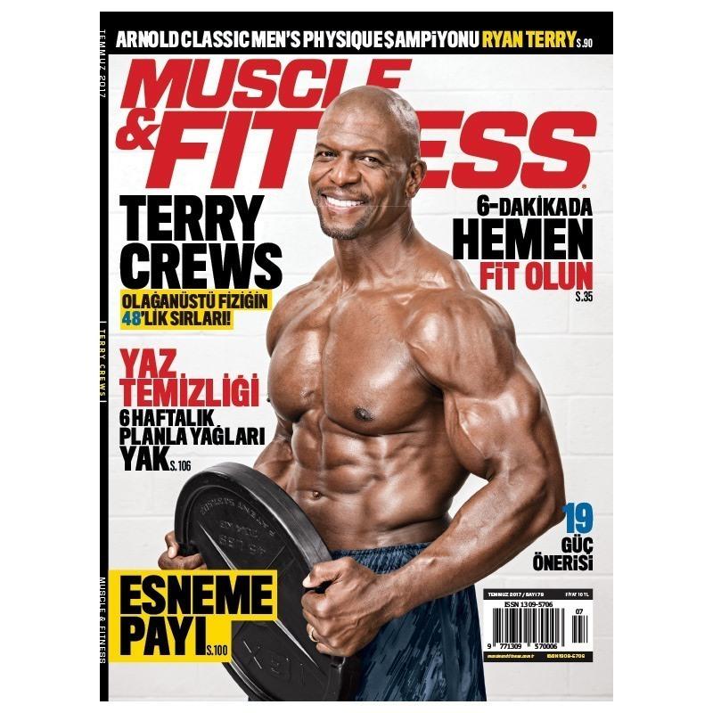 Muscle & Fitness Temmuz 2017 Sayısı
