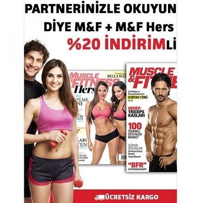 Muscle & Fitness ve Muscle & Fitness Hers Bir Arada %20 İndirimle