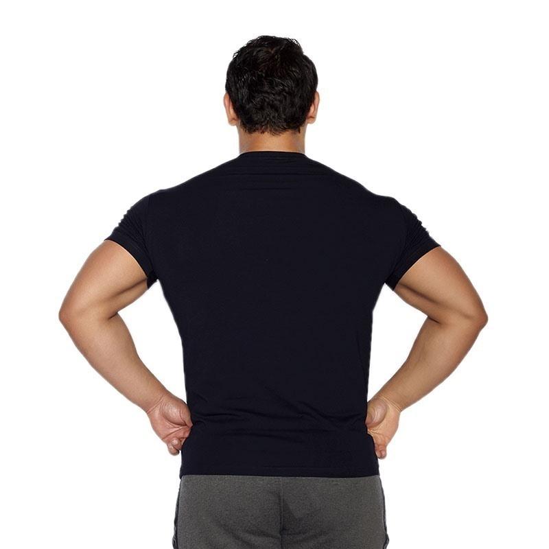 MuscleCloth Basic T-Shirt Lacivert