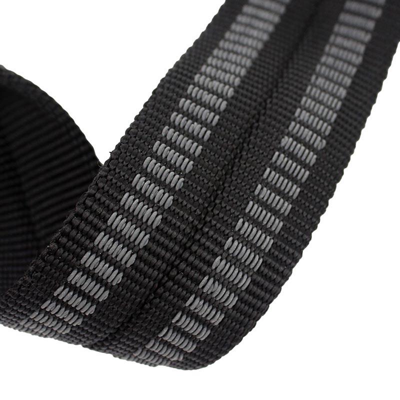 MuscleCloth Big Grip Pro Lifting Straps Siyah