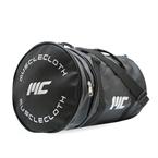 MuscleCloth Deri Silindir Çanta - Siyah
