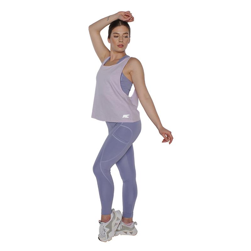 MuscleCloth Elise Sporcu Sütyeni Lila