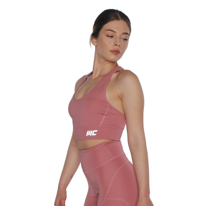 MuscleCloth Elise Sporcu Sütyeni Pembe