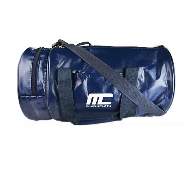 MuscleCloth Fitness Silindir Spor Çanta Lacivert