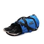 MuscleCloth Fitness Silindir Spor Çanta - Mavi
