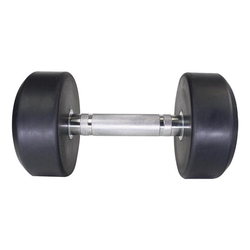 MuscleCloth Kauçuk Kaplı Profesyonel Dambıl 10 Kilo