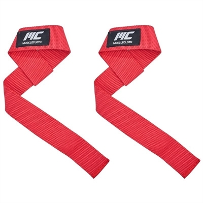 MuscleCloth Musclecloth Lifting Strap Kırmızı