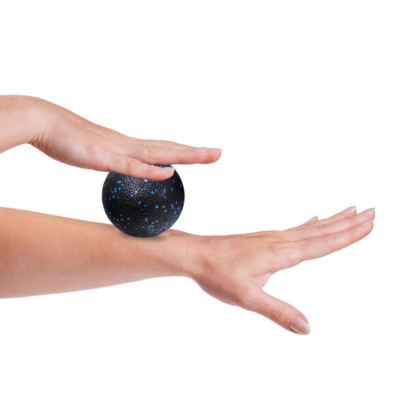 MuscleCloth Masaj Topu Siyah-Mavi