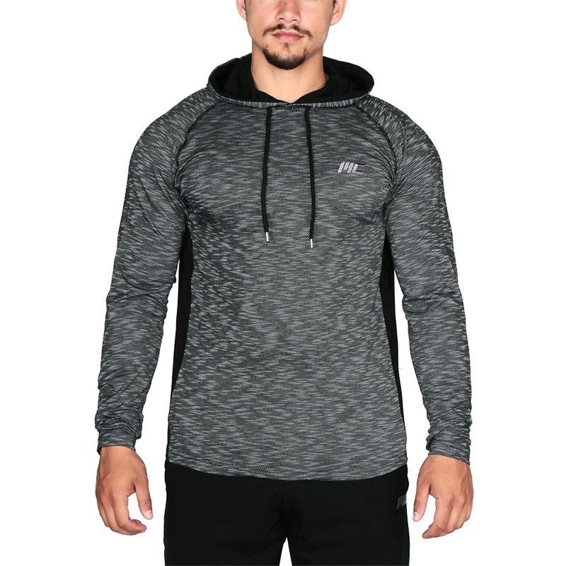 MuscleCloth Pro Pike Kapüşonlu Sweatshirt Siyah