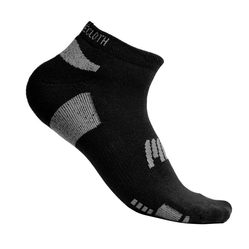 MuscleCloth Stay Fresh Çorap Siyah