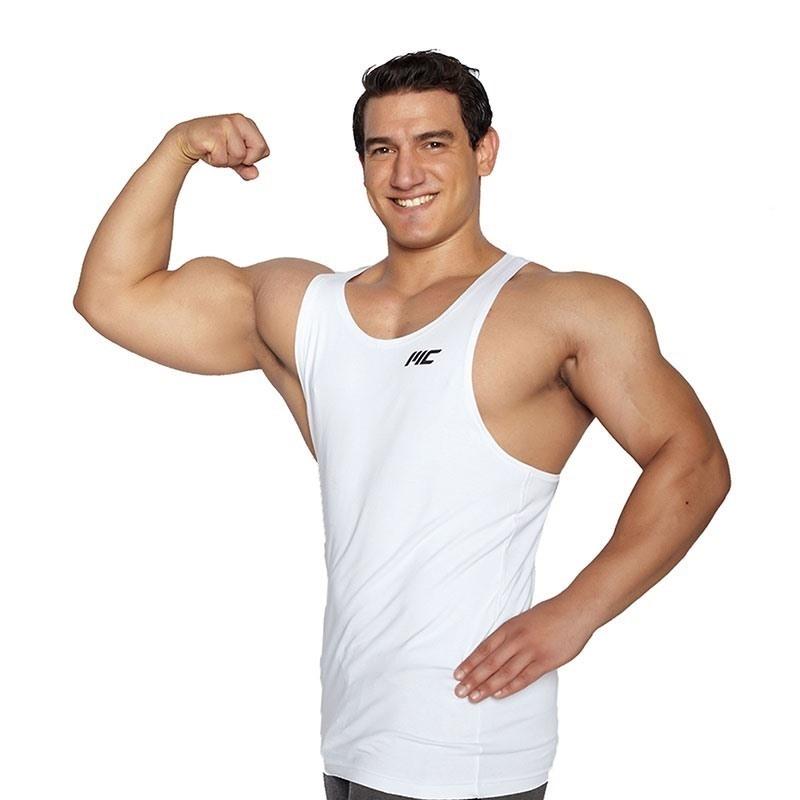 MuscleCloth Training Fitness Atleti Beyaz