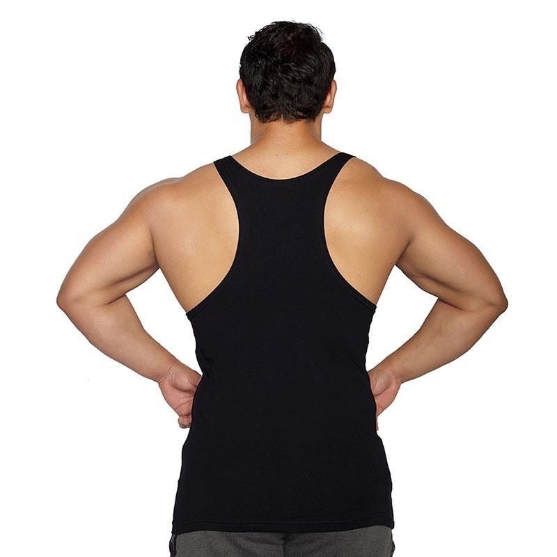 MuscleCloth Training Fitness Atleti Siyah