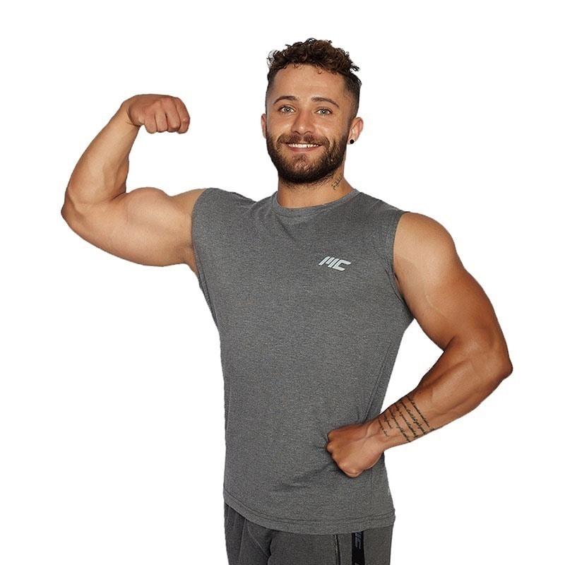 MuscleCloth Training Kolsuz T-Shirt Gri