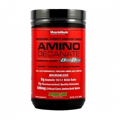 Musclemeds Amino Decanate 360 Gr