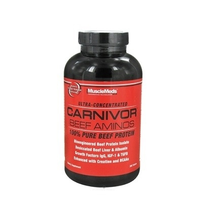 Musclemeds Carnivor Beef Amino 300 Tablet