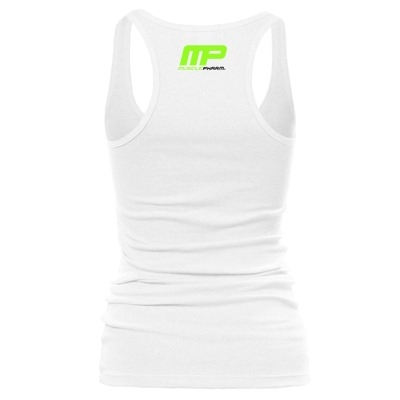 MusclePharm Atlet 'We Live This' Beyaz