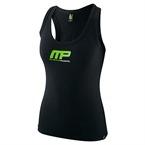 MusclePharm Kadın Atlet 'MP' Siyah ve Yeşil