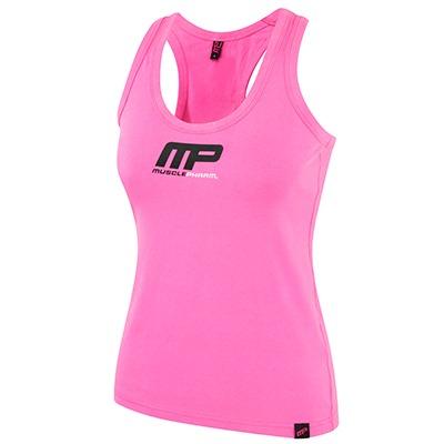 MusclePharm Kadın Atlet 'MP' Pembe