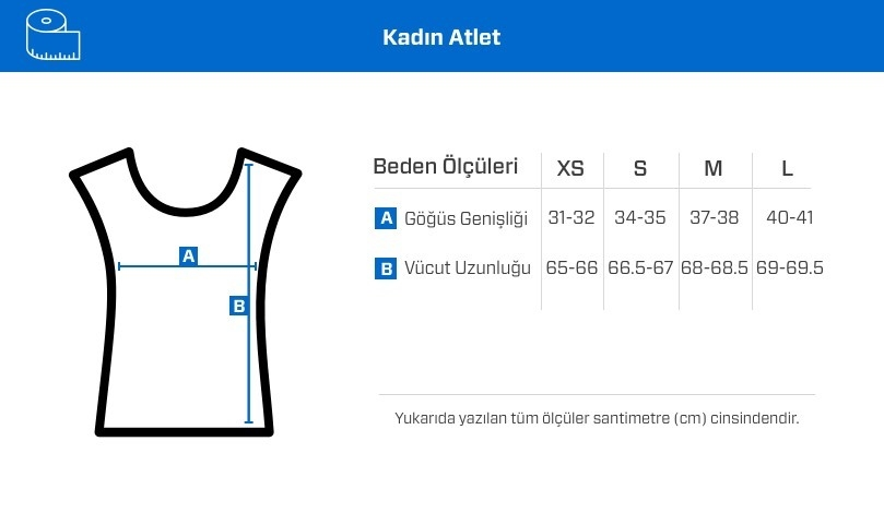 MusclePharm Kadın Atlet 'Strong is The New Sexy' Beyaz