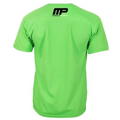 MusclePharm T Shirt 'MP' Yeşil