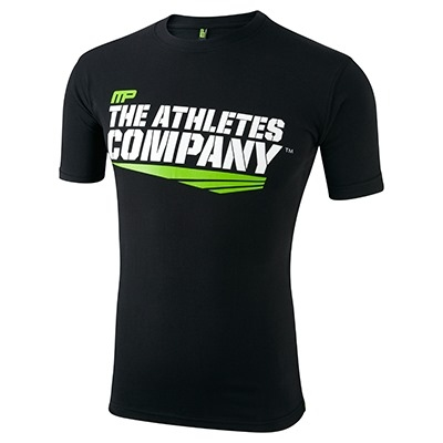 MusclePharm T Shirt 'The Athletes Company' Siyah