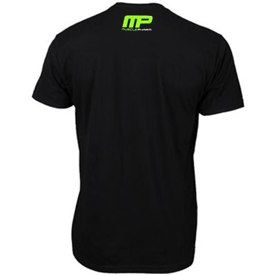 MusclePharm T Shirt 'Weak Ends Here' Siyah