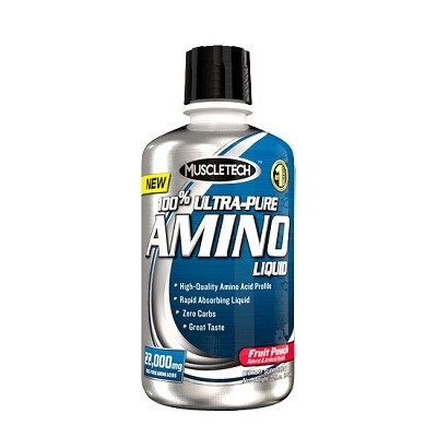 Muscletech %100 Ultra Pure Amino Liquid 946 ML