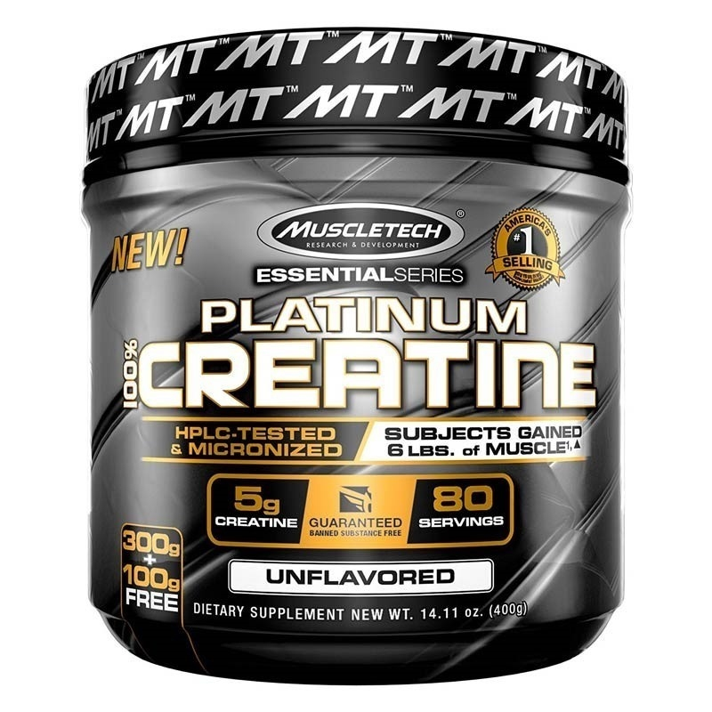 Muscletech Essential Series Platinum %100 Micronize Creatine Powder 400 Gr