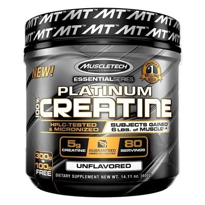 Muscletech Essential Series Platinum %100 Micronize Creatine Powder 400 Gr
