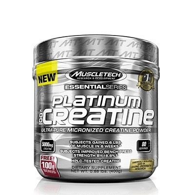 Muscletech Essential Series Platinum %100 Micronize Creatine Powder 402 Gr