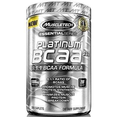 Muscletech Essential Series Platinum BCAA %100 8:1:1 200 Tablet