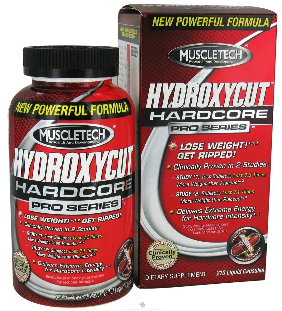 Muscletech Hydroxycut Hardcore Pro 120 Sıvı Kapsül