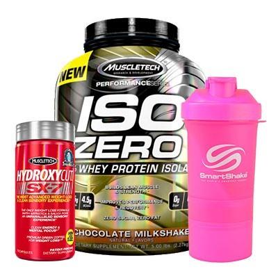 Muscletech Iso Zero + Hydroxycut Sx-7 + Smart Shake All Pink Kampanyası