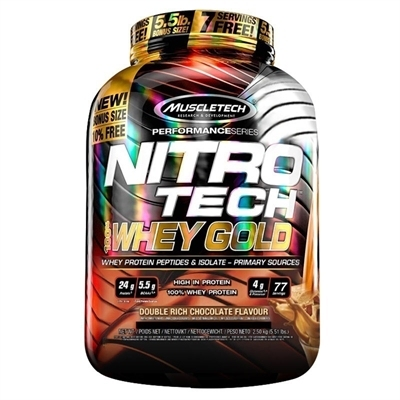 Muscletech Nitrotech %100 Whey Gold Protein 2500 Gr