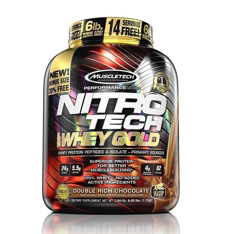 Muscletech Nitrotech %100 Whey Gold Protein 2721 Gr