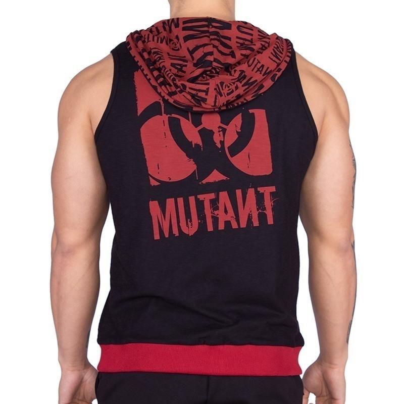 Mutant Dig Deep Kapüşonlu Kolsuz Yelek Siyah