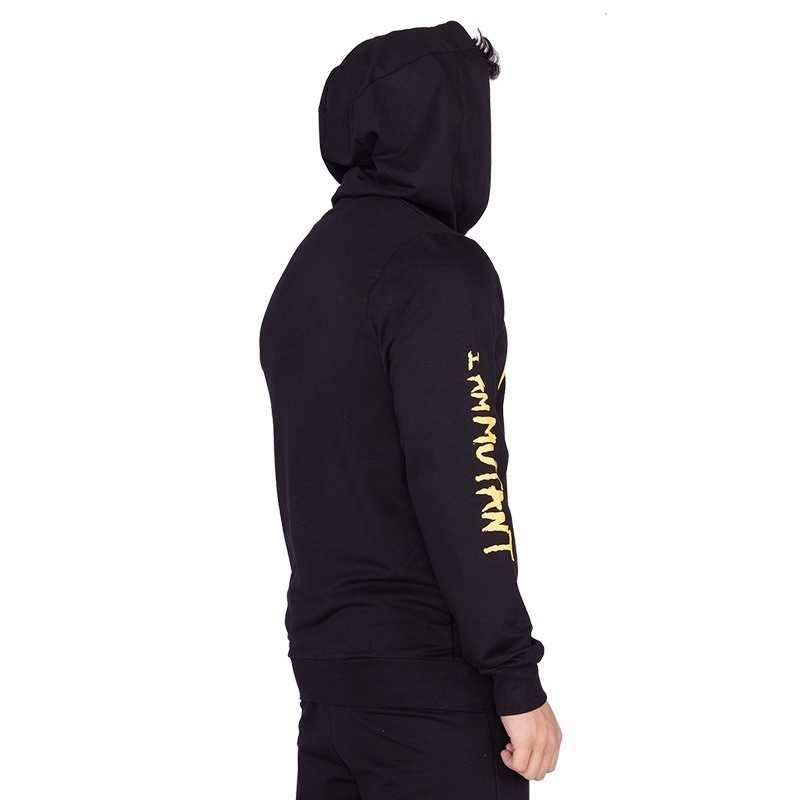 Mutant I Am Mutant Sweatshirt Siyah