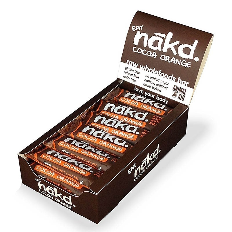 Nakd Energy Bar 35 Gr 18 Adet