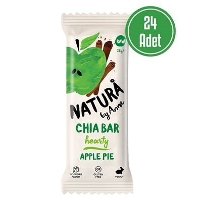 Natura By Anne Chia Bar Apple Pie 38 Gr 24 Adet