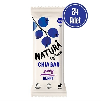 Natura By Anne Chia Bar Berry 38 Gr 24 Adet