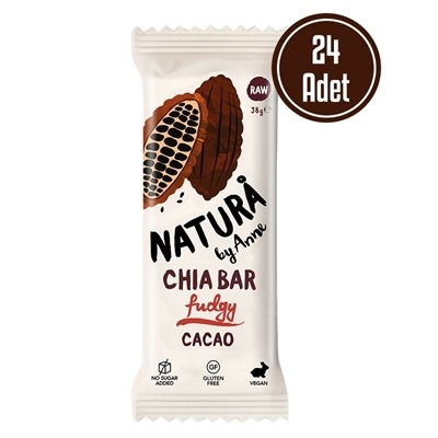 Natura By Anne Chia Bar Cacao 38 Gr 24 Adet