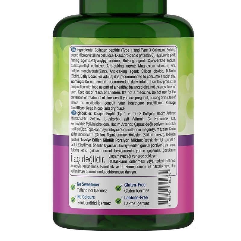 Nature's Supreme Beauty Collagen 60 Tablet