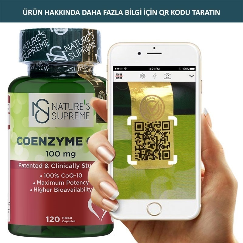 Nature's Supreme Coenzyme Q10 100 Mg 120 Kapsül