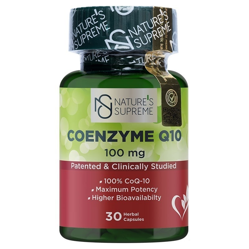 Nature's Supreme Coenzyme Q10 100 Mg 30 Kapsül