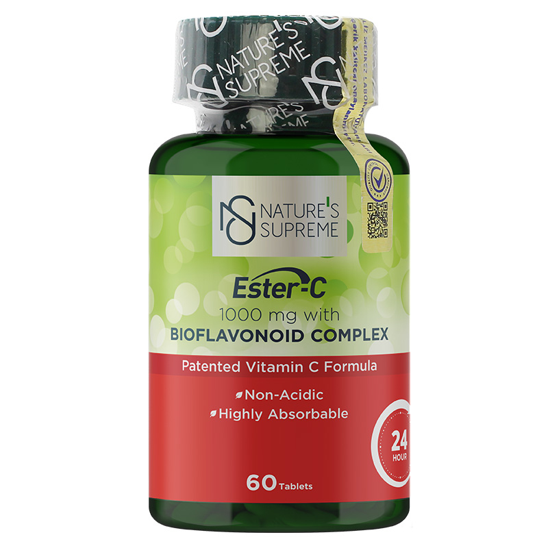 Nature's Supreme Ester-C 1000 Mg C Vitamini 60 Tablet