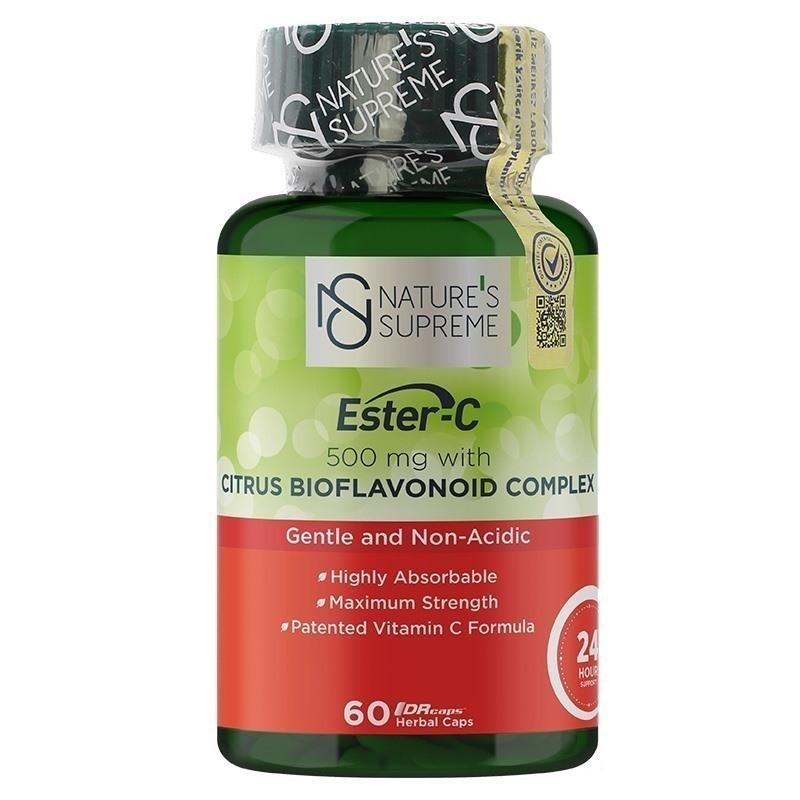 Nature's Supreme Ester-C 500 Mg C Vitamini 60 Kapsül