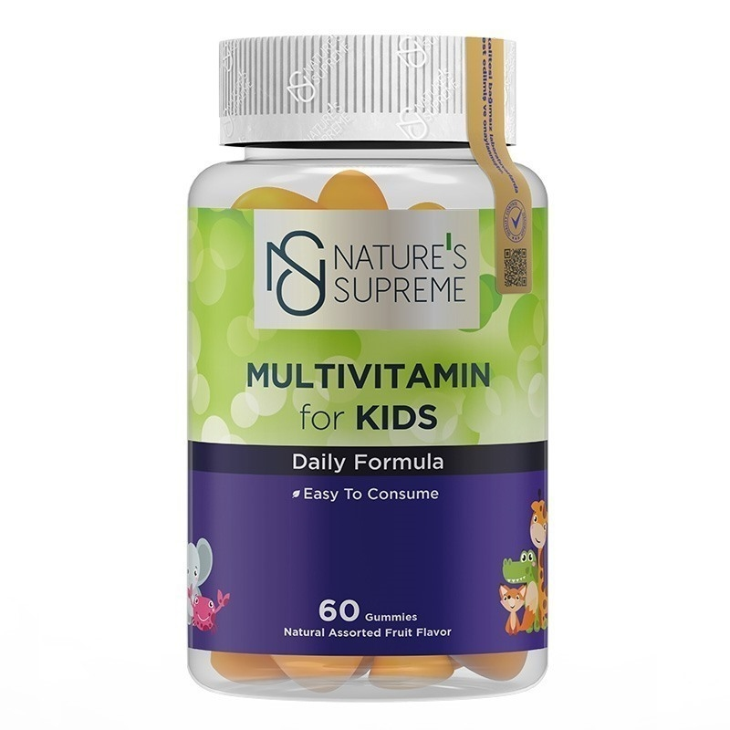 Nature's Supreme Gummies Multivitamin for Kids 60 Çiğnenebilir Form