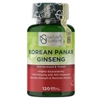 Nature's Supreme Korean Panax Ginseng 120 Kapsül
