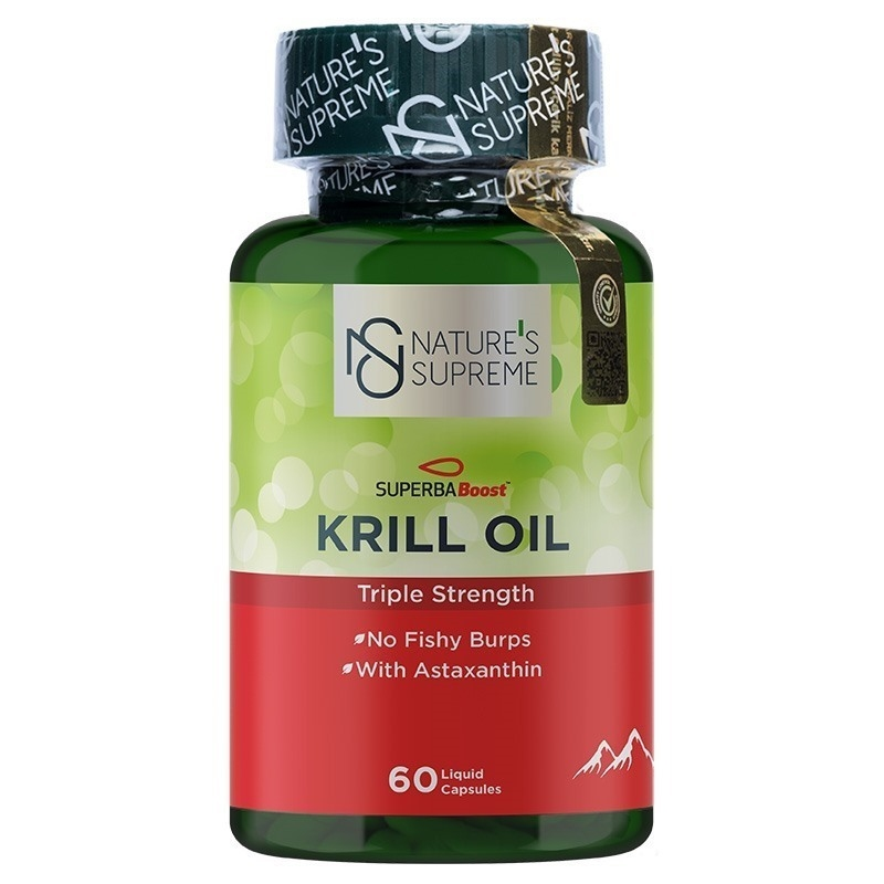 Nature's Supreme Krill Oil 60 Kapsül